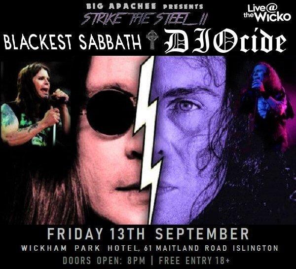 Blackest Sabbath – Live@TheWicko