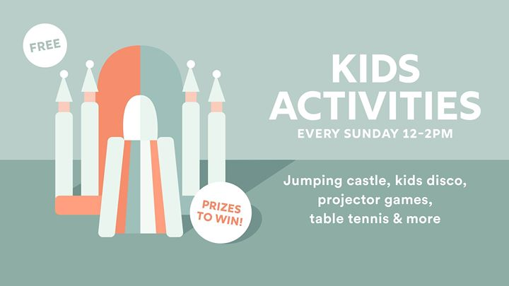 Free Kids Activities – Every Sunday