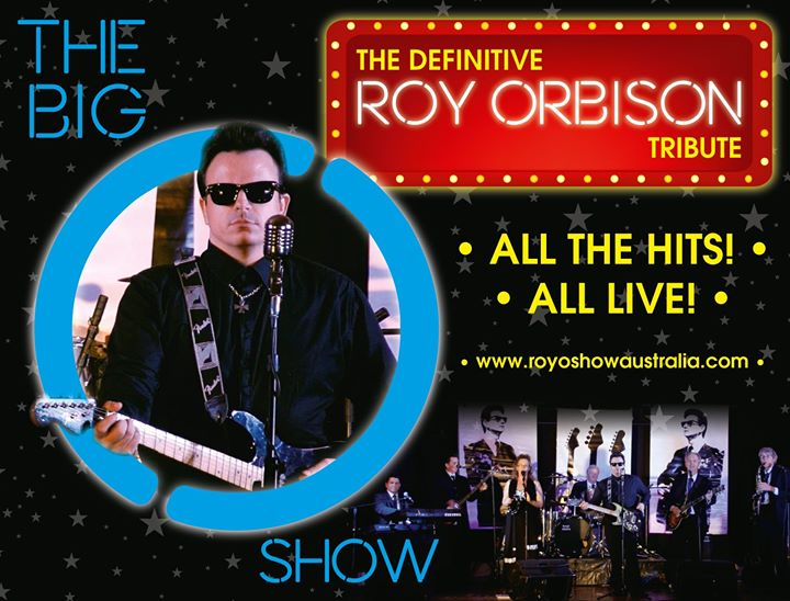 Roy Orbison Tribute $15pp