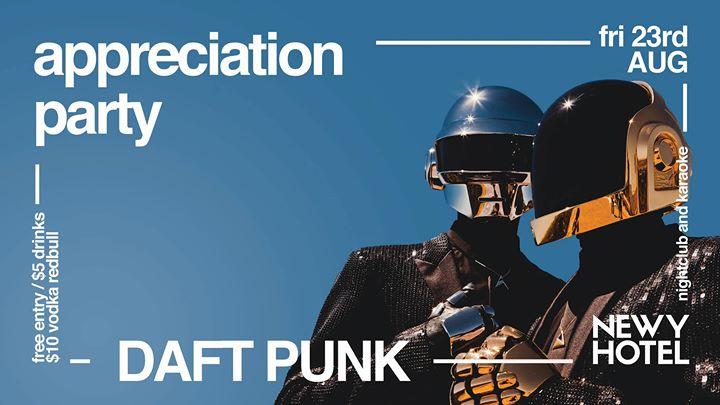 Daft Punk Appreciation Party ★ Free Entry