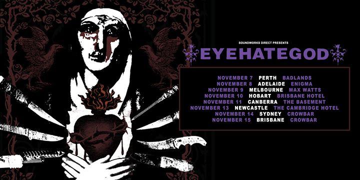 EYEHATEGOD – Newcastle