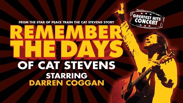 Remember the days of Cat Stevens, Starring Darren Coggan
