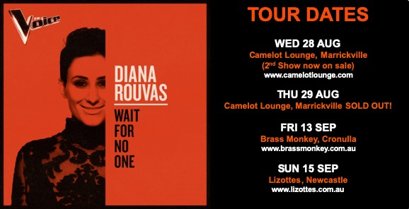 Diana Rouvas 'Wait For No One' Live In Concert