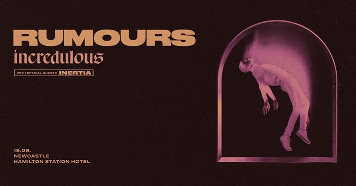 "Rumours ""Incredulous"" Single Launch Newcastle"