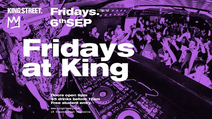 Student Night • Fridays at King