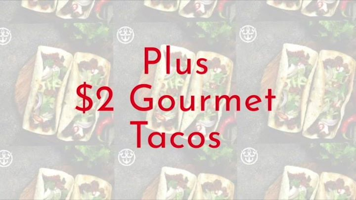 Stand Up Comedy + $2 Tacos