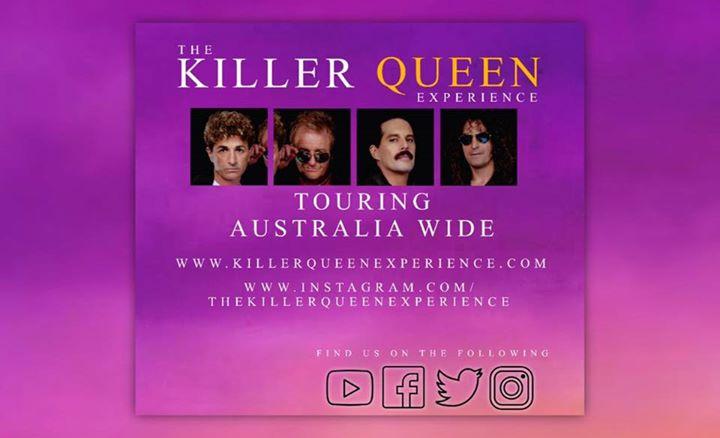 Killer Queen Experience – Featuring Johnny Blunt