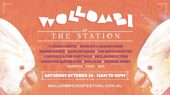 Wollombi at The Station | Saturday October 26