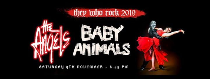 The Angels and Baby Animals – 'They Who Rock 2019'