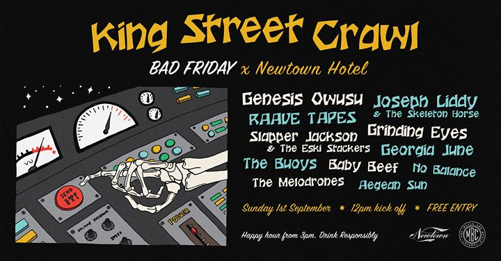 Bad Friday x King Street Crawl 2019