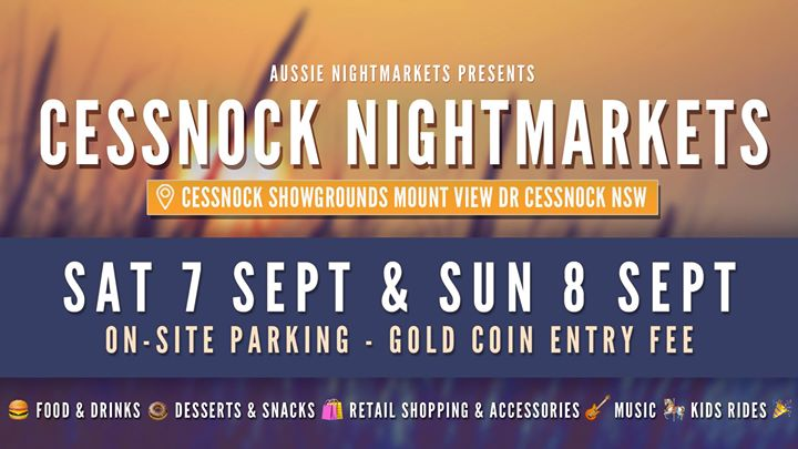 Aussie NightMarkets – Cessnock