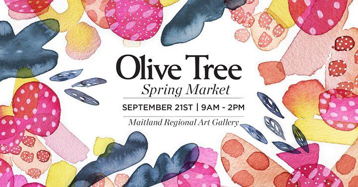The Olive Tree Market at Maitland Regional Art Gallery
