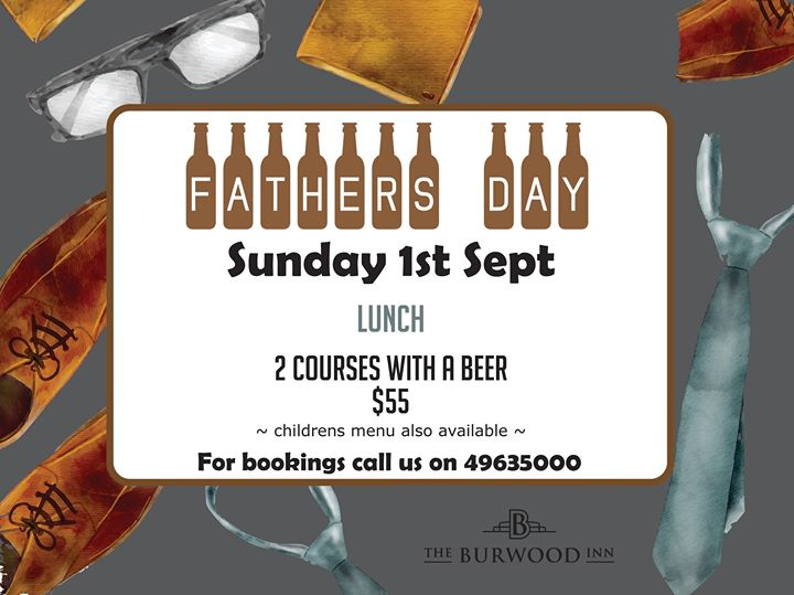 Fathers Day at the Burwood