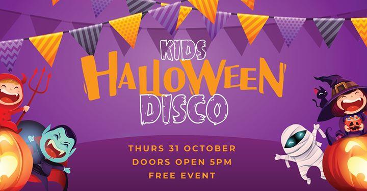 Kids Halloween Disco – Free Event!