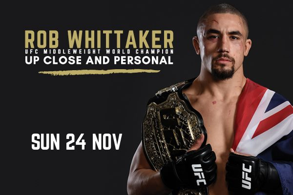 Rob Whittaker Up Close and Personal