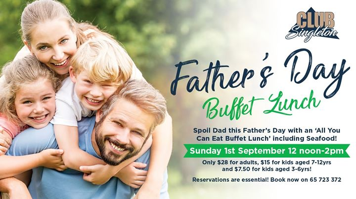 Father's Day Buffet Lunch!