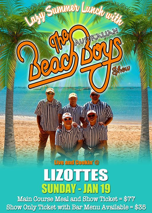 The Australian Beach Boys Show – Lizotte's Newcastle!