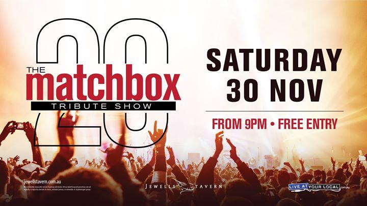 Matchbox 20 Tribute Show at Jewells Tavern