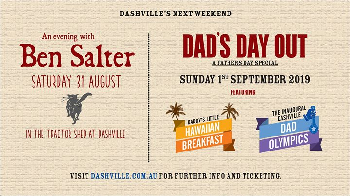 A Dashville Father's Day Weekend