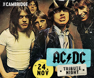 WEEK 35 | Cambridge Hotel (ACDC PARTY)