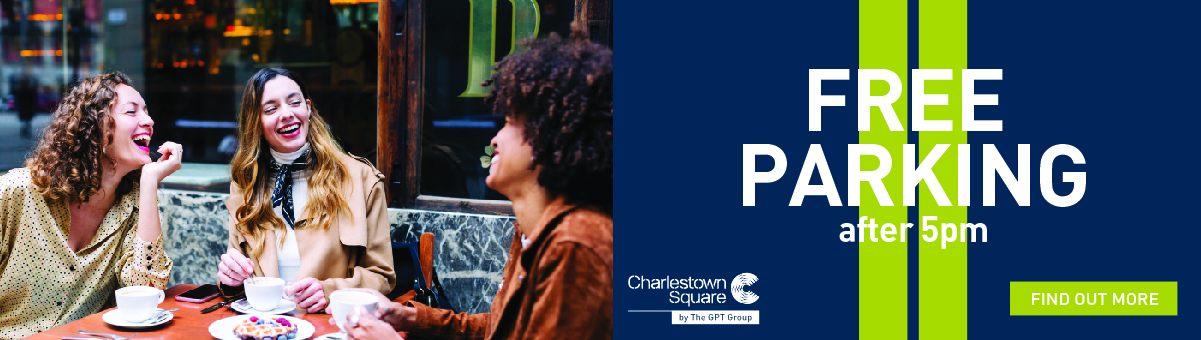 WEEK 34 | Charlestown Square - Free Parking After 5