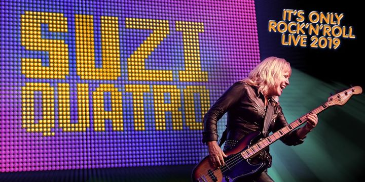 "Suzi Quatro ""It's Only Rock'N'Roll"""