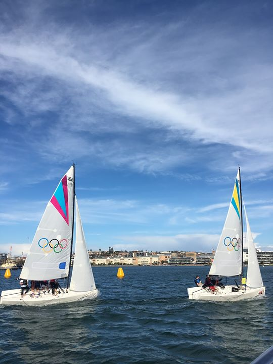 2019 Thirkell Trophy – Newcastle Youth Match Racing Championship