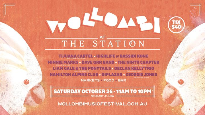 Wollombi at The Station Newcastle | Saturday October 26