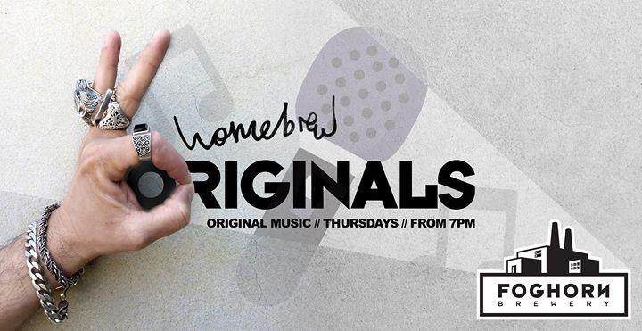 Homebrew Original Music Night
