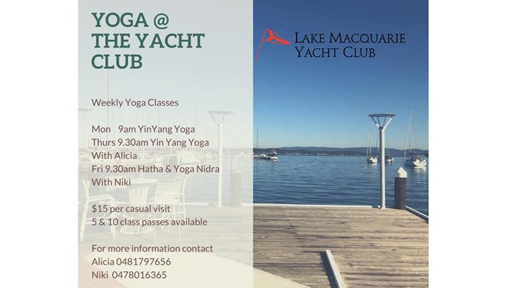 Yoga at the Yacht Club