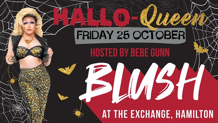BLUSH Newcastle – Hallo-Queen hosted by Bebe Gunn