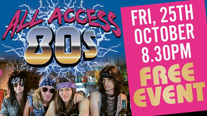All Access 80's at Cardiff RSL