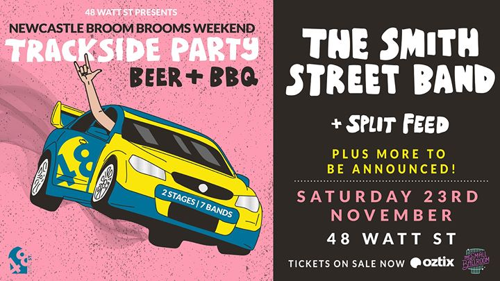 Trackside Party – Featuring The Smith Street Band