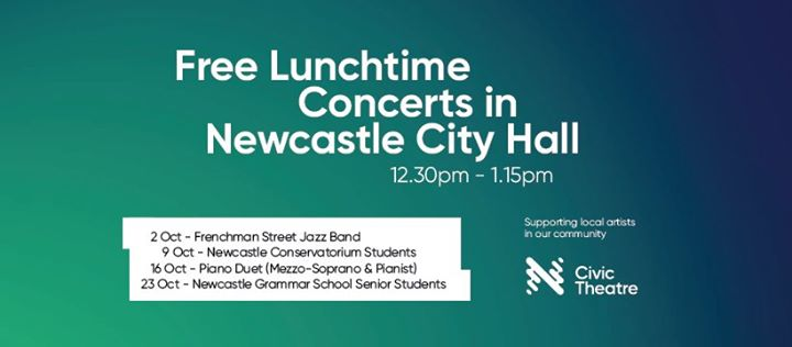 Free Lunchtime Concerts in City Hall