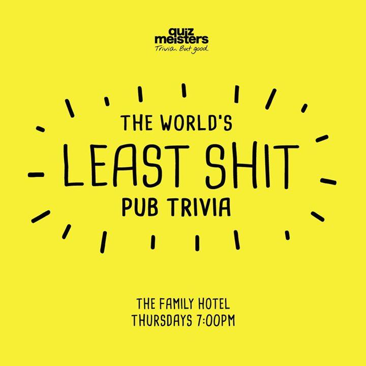 Trivia at The Family Hotel