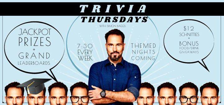 Trivia Thursdays with Hit 106.9's Simon Baggs