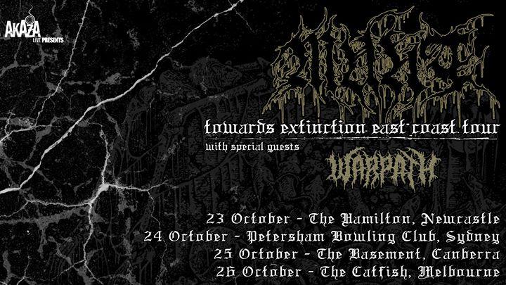 Munt – Towards Extinction Tour w/ Warpath – Newcastle