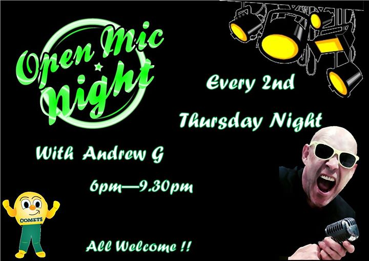 Open Mic Night with Andrew G
