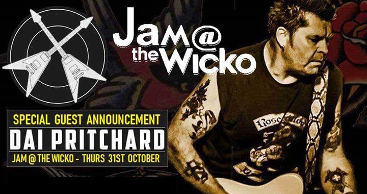 Jam at The Wicko w/ Dai Pritchard
