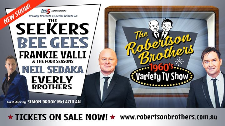 Robertson Brothers 60's Variety TV Show – Art House Wyong