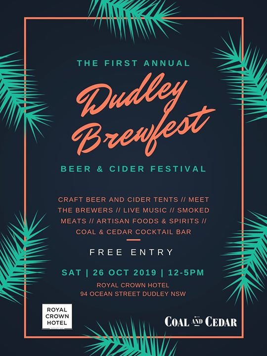 The First Annual Dudley Brewfest