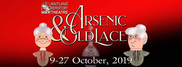 Arsenic and Old Lace at Maitland Repertory Theatre