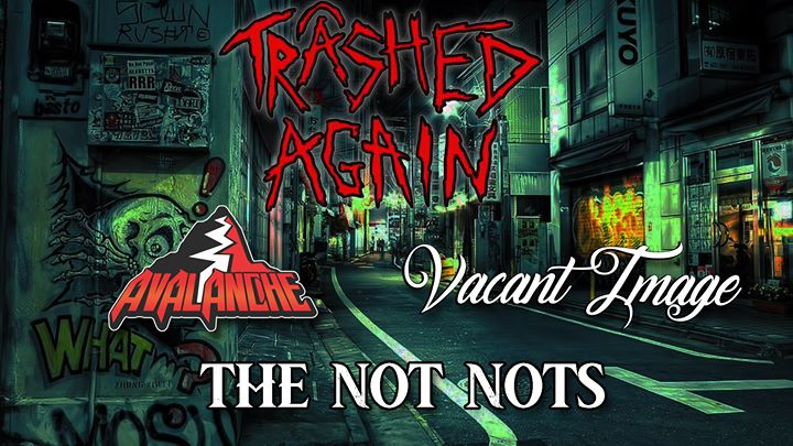 Trashed Again, Avalanche, Vacant Image, The Not Nots