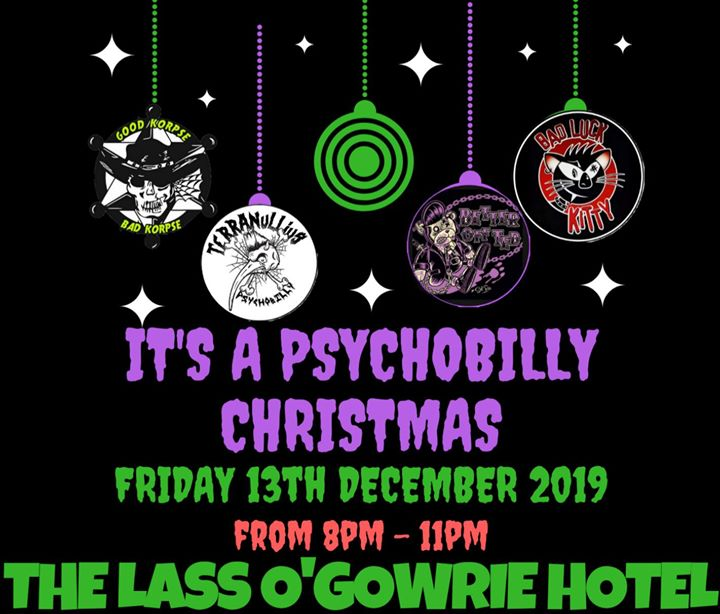 Psychobilly Friday 13th Christmas Party
