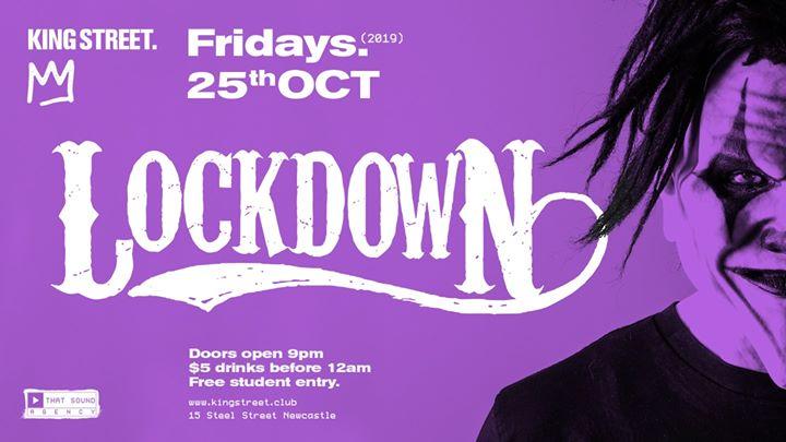 Lockdown • $5 drinks til 12am