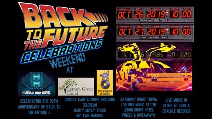 Back to the Future celebrations Weekend