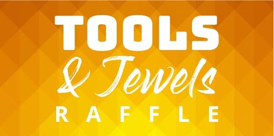 October Tools 'n' Jewels Raffle