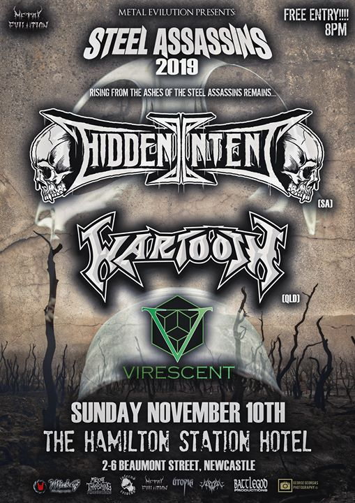 Hidden Intent Wartooth Virescent Free at The Hammo