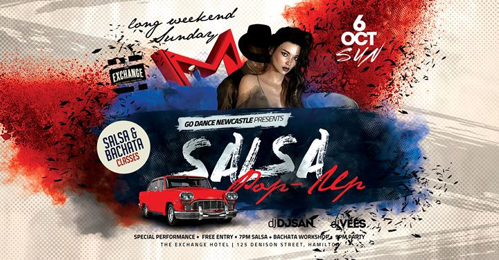 October Long Weekend SALSA POP UP Party (Hamilton)