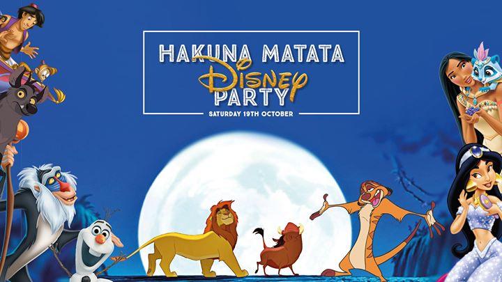 Hakuna Matata Disney Party!